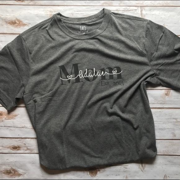 339983f2bdbd3 Custom Mom T Shirt with Children's Names